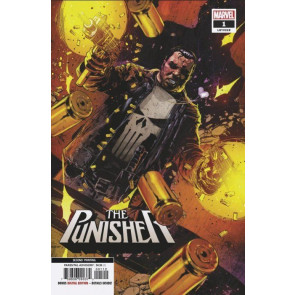 The Punisher (2018) #1 VF/NM 2nd Printing Variant Cover