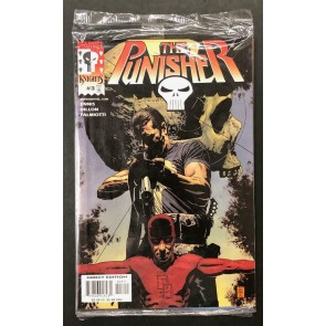 The Punisher (2000) #3 VF/NM Daredevil Sealed Polybagged Marvel Knights