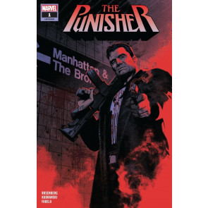 The Punisher (2018) #1 VF/NM Greg Smallwood 1st Printing