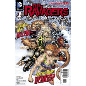 THE RAVAGERS (2012) #1 NM THE NEW 52!