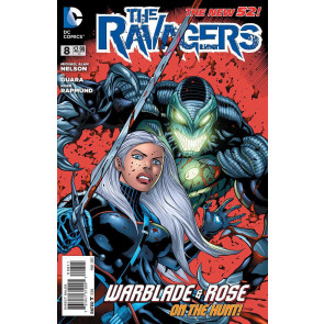 THE RAVAGERS (2012) #'s 8, 9, 10, 11, 0 NEAR COMPLETE