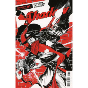 The Shadow (2017) #1 VF/NM Brandon Peterson Cover Dynamite