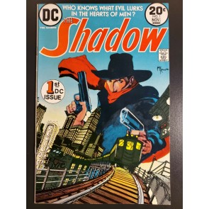 THE SHADOW #1 (1973) VF/NM (9.0) HIGH GRADE DENNY O'NEIL & MIKE KALUTA ART |