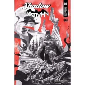 The Shadow/Batman (2017) #1 VF/NM Dustin Nguyen Cover Dynamite DC