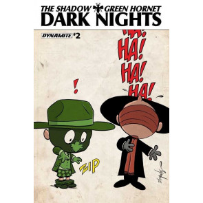 THE SHADOW/GREEN HORNET: DARK NIGHTS #2 VF/NM VARIANT COVER DYNAMITE