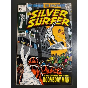 THE SILVER SURFER #13 (1969) F (6.0) 1ST APP DOOMSDAY MAN STAN LEE BUSCEMA |
