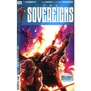 The Sovereigns (2017) #1 VF/NM Philip Tan Cover Dynamite