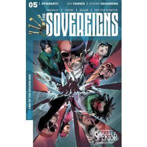 The Sovereigns (2017) #5 VF/NM Stephen Segovia Cover Dynamite