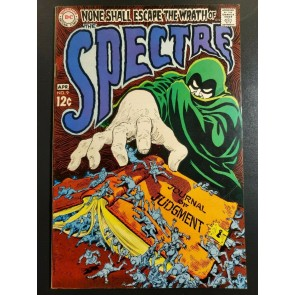 The Spectre #9 (1967) F+ (6.5) Nick Cardy cover, Bernie Wrighton Art |