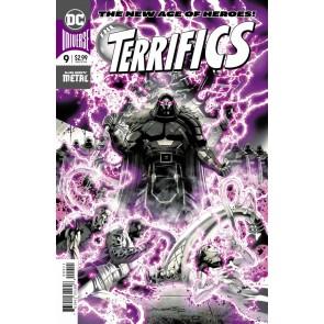 The Terrifics (2018) #9 VF/NM Foil Cover DC Universe