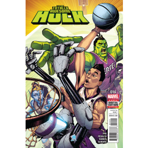 The Totally Awesome Hulk (2015) #14 VF/NM Jeremy Lin guest