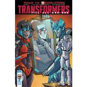 The Transformers: Till All Are One (2016) #2 VF/NM Rom Variant Cover IDW