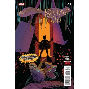 The Unbeatable Squirrel Girl (2015) #33 VF+ - VF/NM Erica Henderson Cover