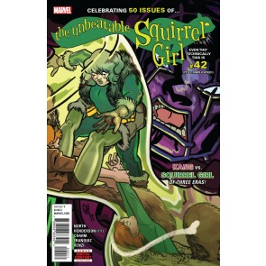 The Unbeatable Squirrel Girl (2015) #42 VF+ - VF/NM Erica Henderson Cover