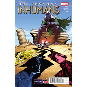 THE UNCANNY INHUMANS (2015) #2 VF/NM