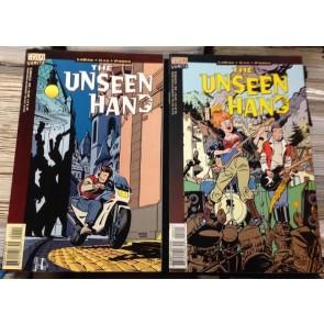 THE UNSEEN HAND #'s 1, 2, 3, 4 COMPLETE FN+ SET VERTIGO