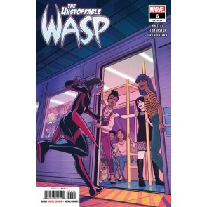 The Unstoppable Wasp (2019) #6 VF/NM Stacy Lee Cover