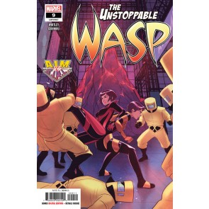 The Unstoppable Wasp (2019) #9 VF/NM Stacy Lee Cover