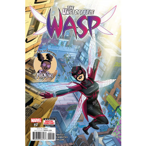 The Unstoppable Wasp (2015) #2 VF/NM