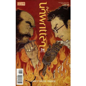THE UNWRITTEN #34 VF/NM MIKE CAREY VERTIGO
