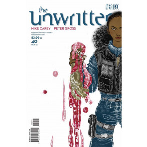 THE UNWRITTEN #40 VF+ MIKE CAREY VERTIGO