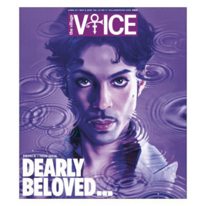 The Village Voice April 27 - May 3, 2016 Prince 1958-2016 memorial issue