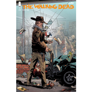 The Walking Dead (2018) 15th Anniversary #1 Adlard Retailer Variant Cover Image