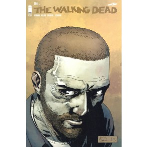 The Walking Dead (2003) #144 VF Death Ezekiel & Rosita Adlard Cover Image Comics