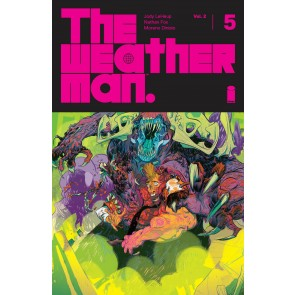 The Weatherman (2019) #5 VF/NM Image Comics