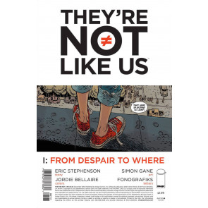 They're Not Like Us (2014) #1 VF/NM Image Comics
