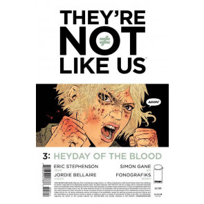 THEY'RE NOT LIKE US (2014) #3 VF/NM IMAGE COMICS
