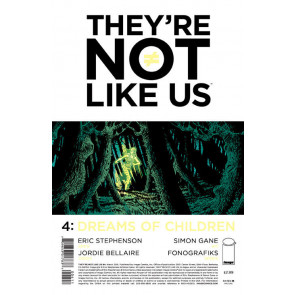 THEY'RE NOT LIKE US (2014) #4 VF/NM IMAGE COMICS