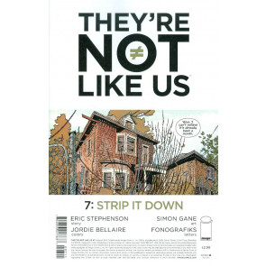THEY'RE NOT LIKE US (2014) #7 VF/NM IMAGE COMICS