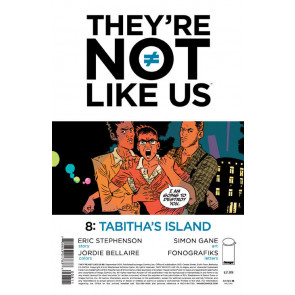 THEY'RE NOT LIKE US (2014) #8 VF/NM IMAGE COMICS