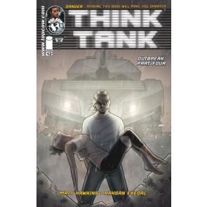 THINK TANK #12 VF/NM IMAGE COMICS