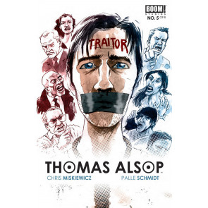THOMAS ALSOP (2014) #5 VF/NM BOOM!
