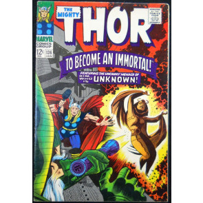 THOR #136 FN/VF INTRO SIF