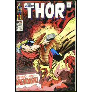 THOR #157 FN/VF NICE EYE APPEAL