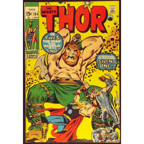 THOR #1834 VF- 1ST APPEARANCE INFINITY AND SILENT ONE