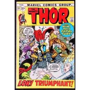 THOR #194 FN VS LOKI PICTURE FRAME COVER STAN LEE JACK KIRBY