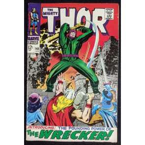 Thor (1966) #148 VG/FN (5.0) Inhumans origin part 3 of 7 1st app Wrecker