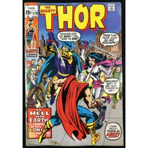Thor (1966) #179 VG/FN (5.0) last Kirby issue