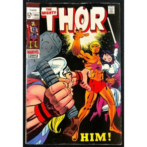 Thor (1966) #165 FN (6.0) 1st full appearance of Him (Warlock)