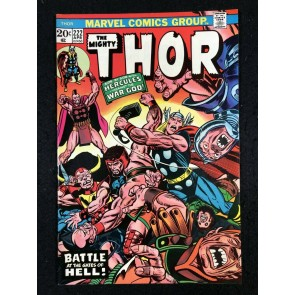 Thor (1966) #222 NM (9.4) with Hercules & Pluto War God