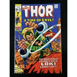 Thor (1966) #191 VF (8.0) 1st app Demolisher Loki app