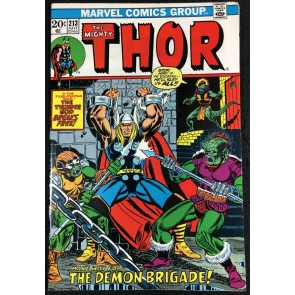 Thor (1966) #213 FN/VF (7.0) vs Demon Brigade