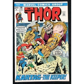 Thor (1966) #196 VF+ (8.5) vs Mangog Picture Frame Cover