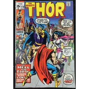 Thor (1966) #179 VG (4.0) Last Kirby Issue