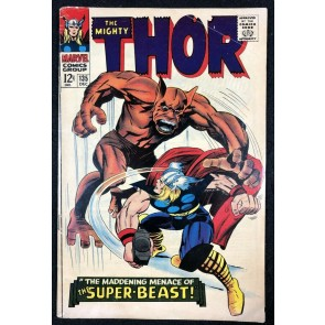 Thor (1966) #135 VG+ (4.5) Origin High Evolutionary