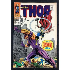 Thor (1966) #140 VF- (7.5) 1st app Growing Man & also Kang appearance